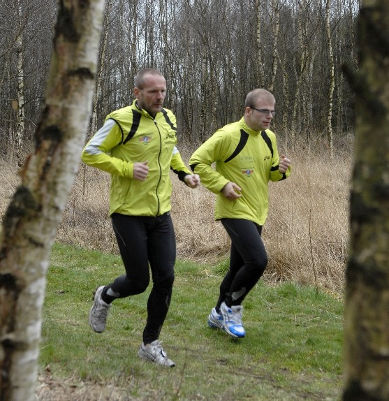 samen trainen in het bos